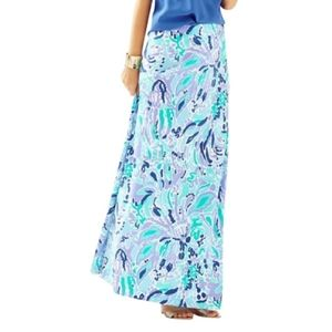 Lily Pulitzer Nola Lily's Lilac Ink Skirt XS